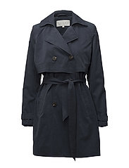 VIMOLLY TRENCHCOAT PB - TOTAL ECLIPSE