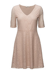 VIFREJ 2/4 SHORT DRESS - PEACH BLUSH