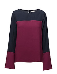 VICOLLINA L/S TOP - TOTAL ECLIPSE