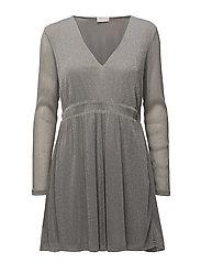 VIMILLLIE L/S DRESS - SILVER