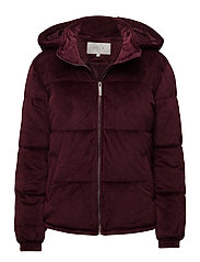 VIMARNIE VELOUR JACKET - FIG