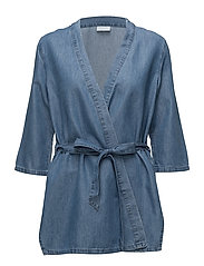 VILIAMA COVER UP - MEDIUM BLUE DENIM