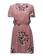 VIBIRDO S/S DRESS - BRIDAL ROSE