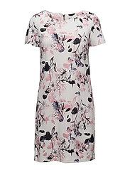 VITINNY NEW S/S DRESS - LUX - CLOUD DANCER