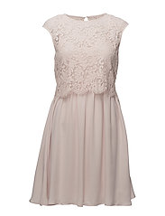 VIULVICA S/L DRESS/DC - PEACH BLUSH