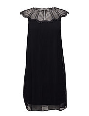 VIKIVA S/L DRESS - BLACK