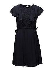 VISALMA S/S DRESS - TOTAL ECLIPSE