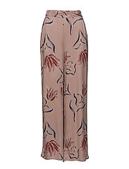 VINANDI HW WIDE PANT - ADOBE ROSE