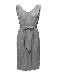 VIPLISS S/L DRESS - LIGHT GREY MELANGE