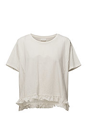 VIROSE S/S T-SHIRT - CLOUD DANCER