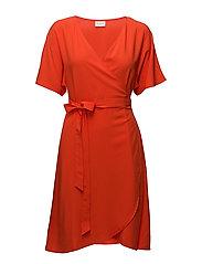 VILIBA S/S WRAP DRESS