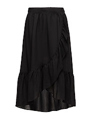 VILA - Vidama Flounce Midi Skirt/Rx
