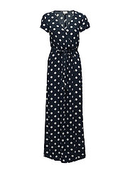VIDOTS WRAP DRESS - TOTAL ECLIPSE