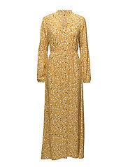 VIPRIMERA L/S LONG DRESS - NUGGET GOLD