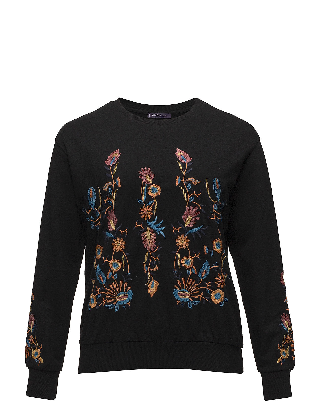Floral Embroidered Sweatshirt thumbnail