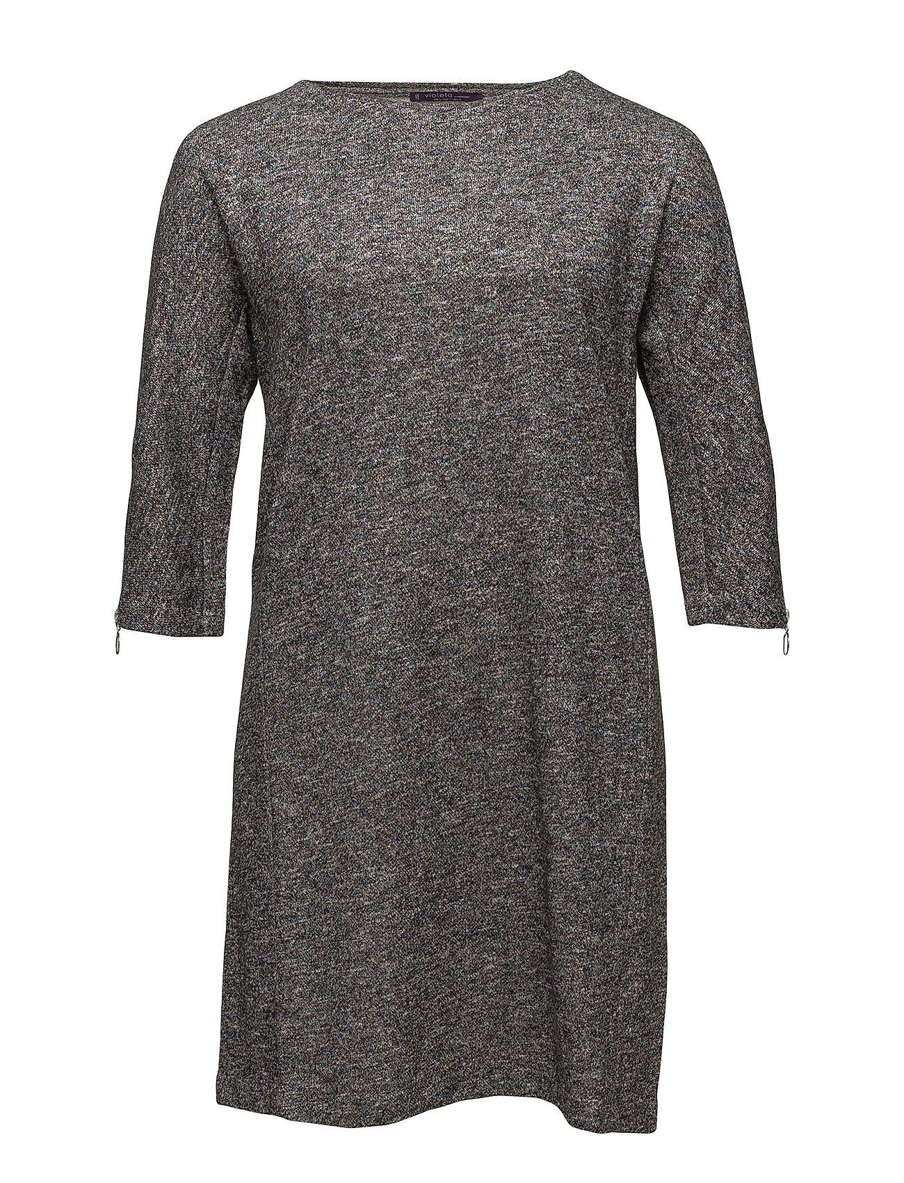 Metallic Cotton Dress Violeta by Mango Korte kjoler til Damer i Grå