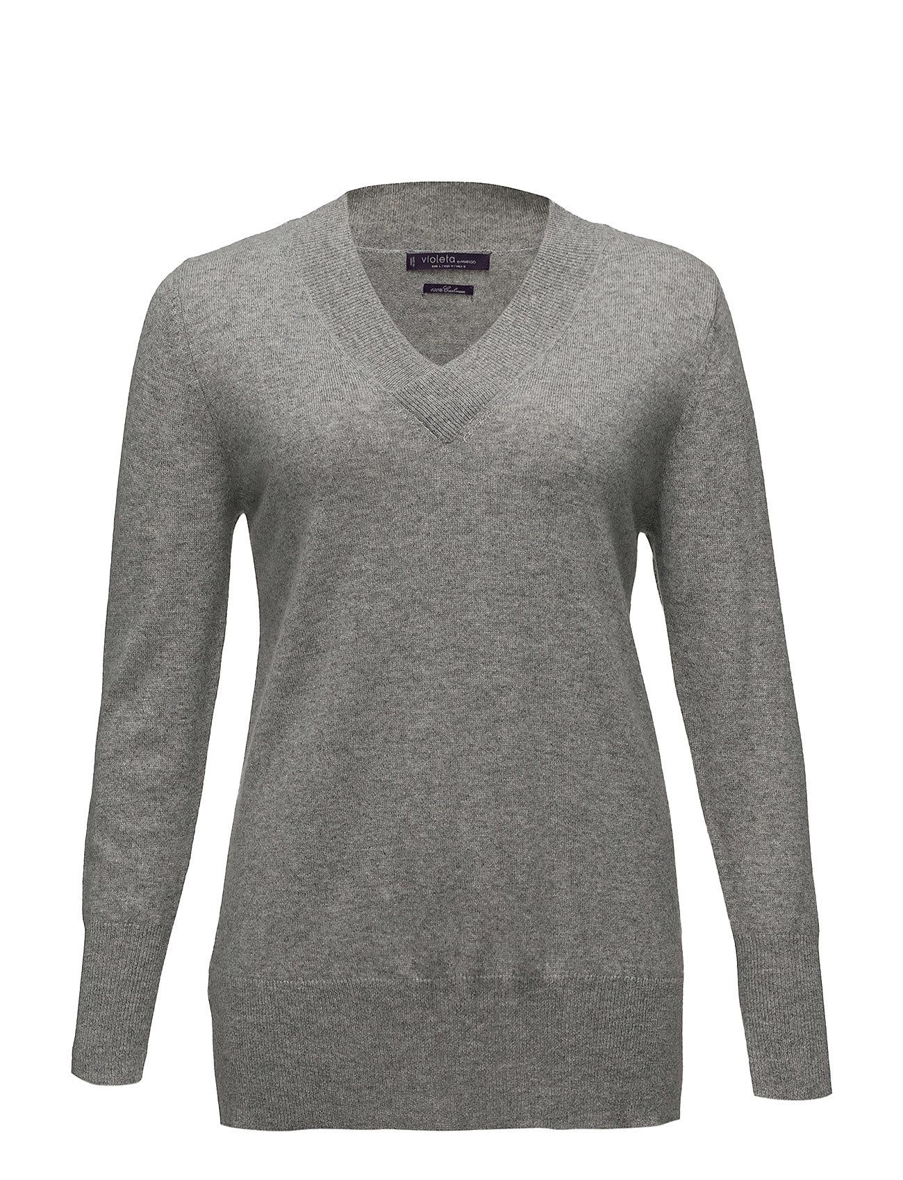 100% cashmere sweater fra violeta by mango på boozt.com dk