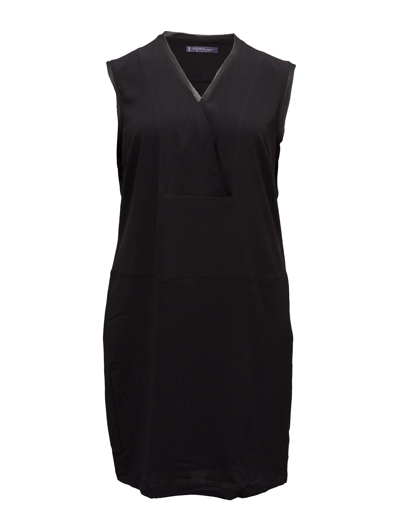 Flowy Dress Violeta by Mango Knælange & mellemlange til Kvinder i Mørkerød