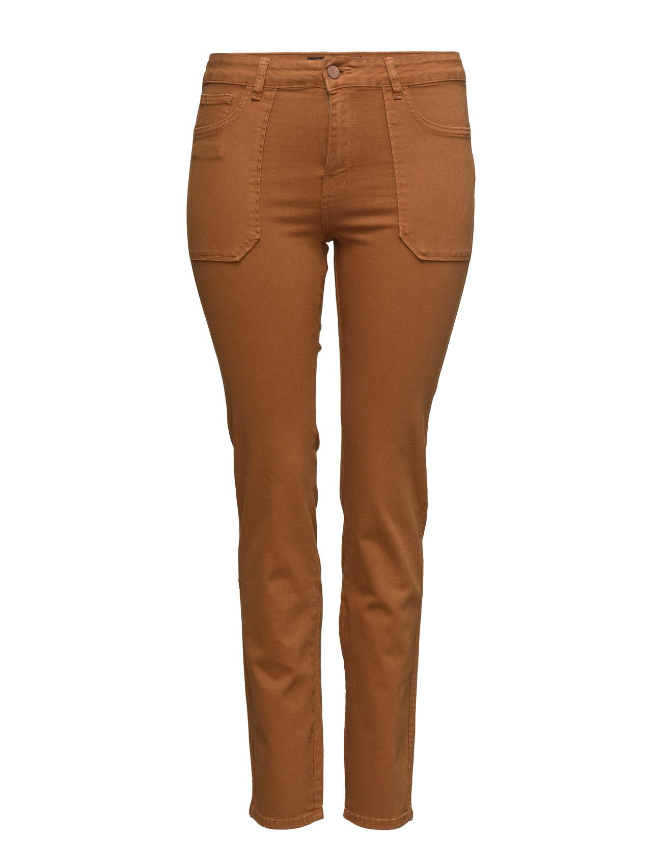 Slim-Fit Caramelo Jeans Violeta by Mango Skinny til Kvinder i Medium Brown