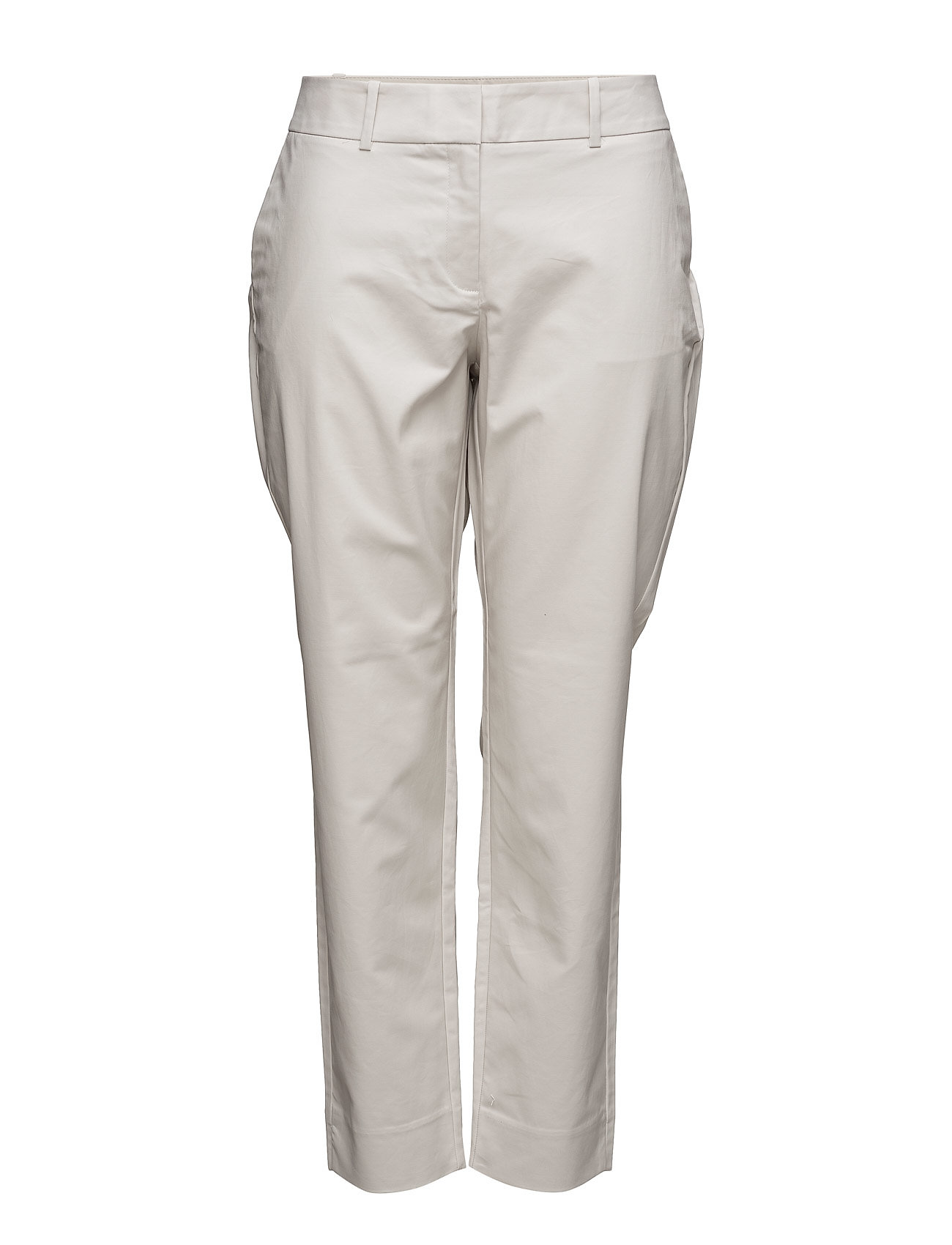 Straight Cotton Trousers Violeta by Mango Byxor