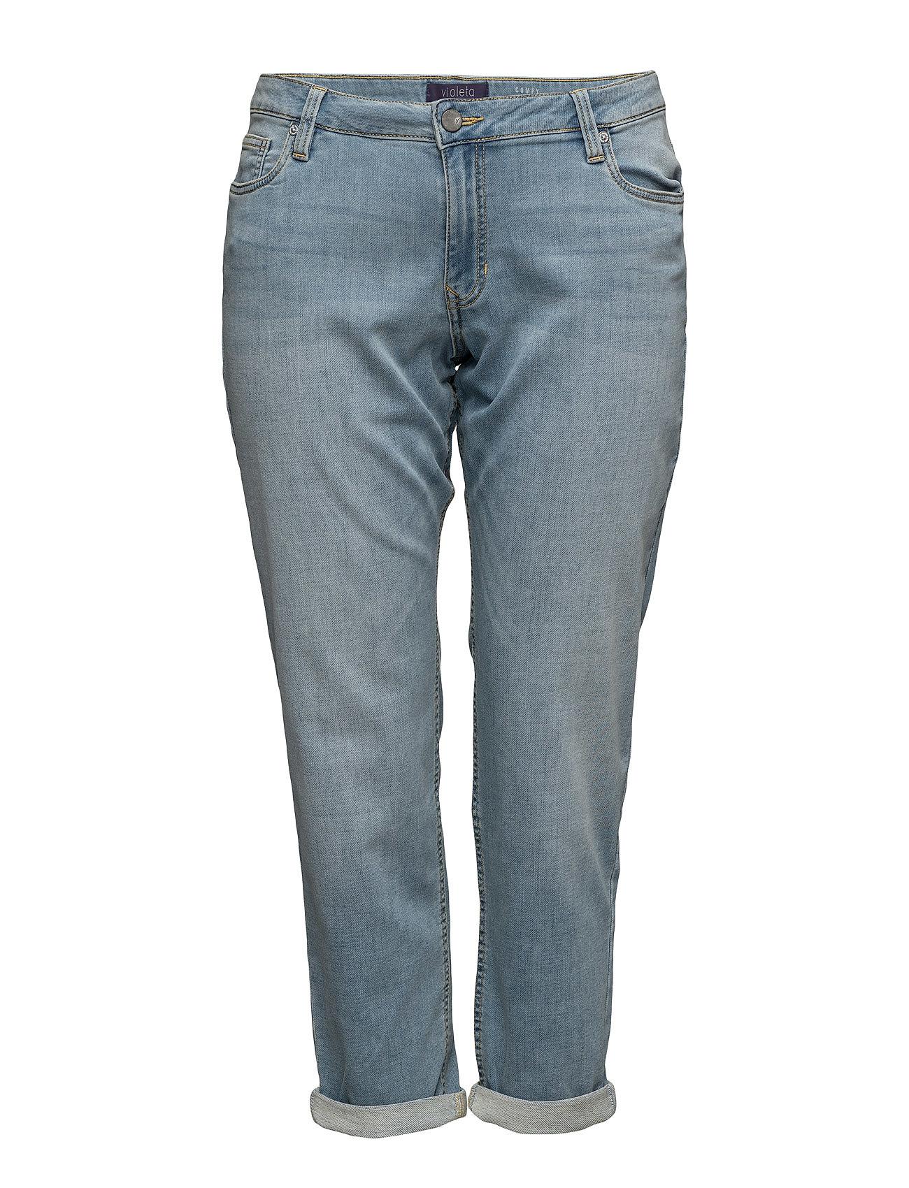 Comfy Relaxed Jeans Violeta by Mango Jeans til Damer i