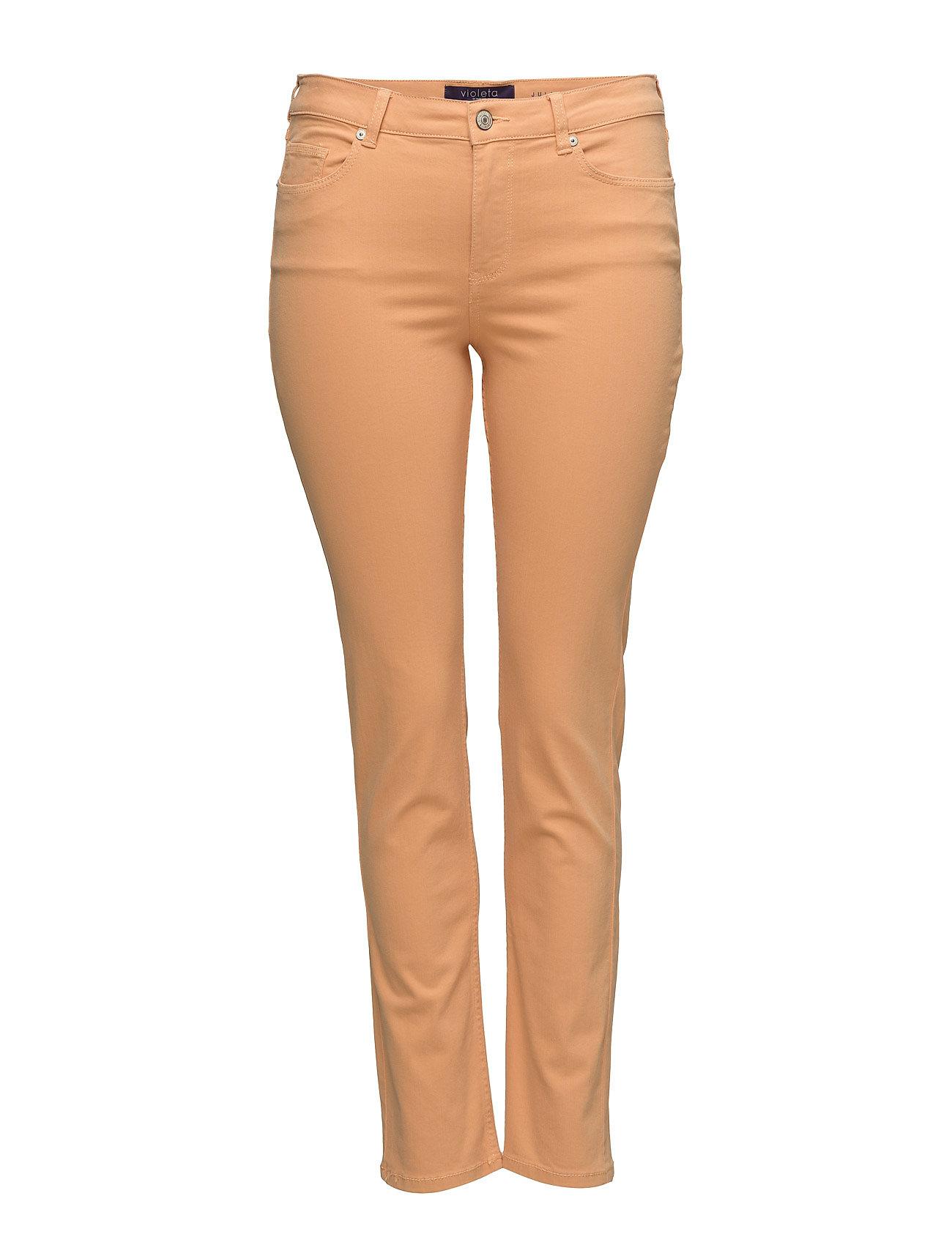 Slim-Fit Julia Jeans Violeta by Mango Jeans til Kvinder i