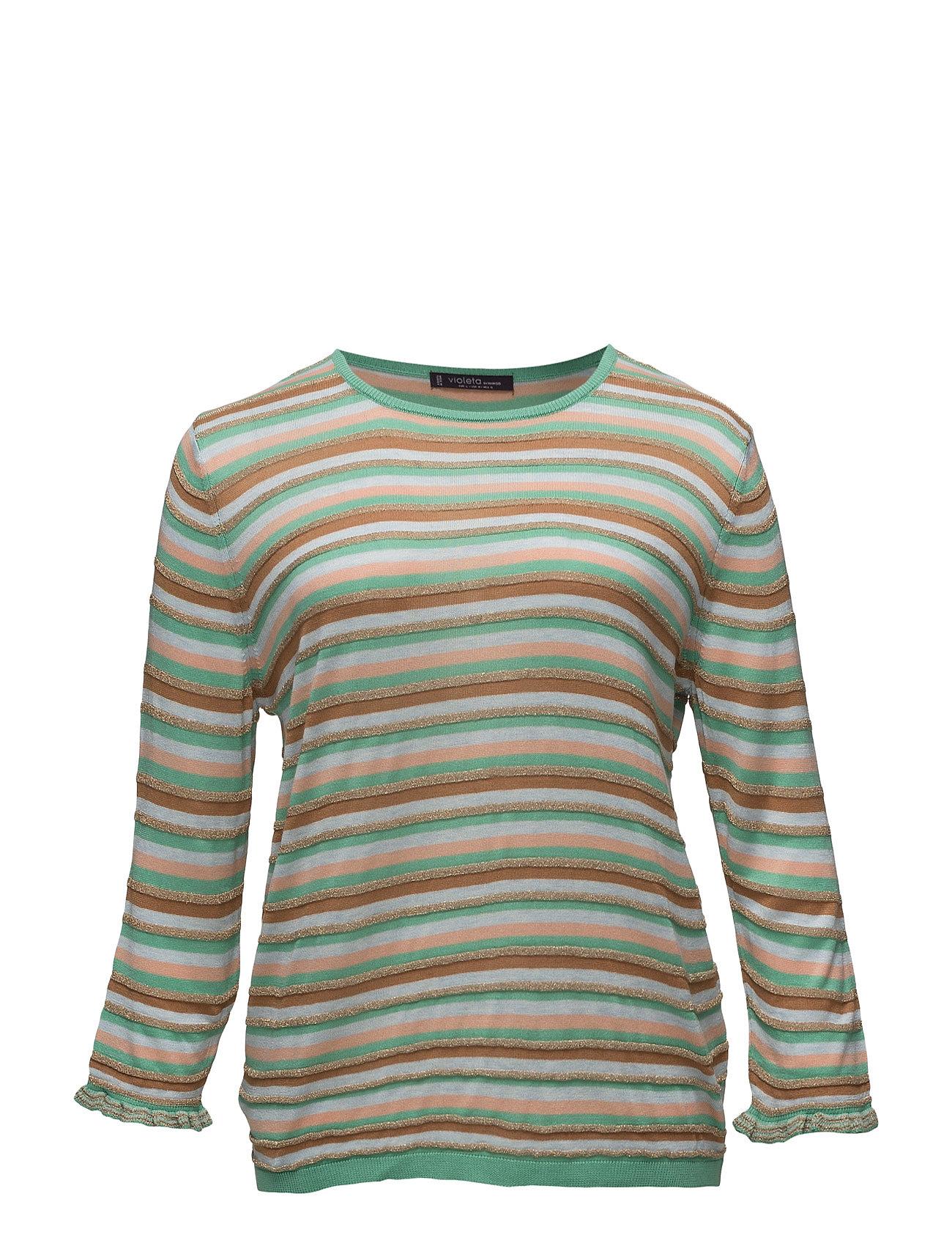 Supertuffa Textured Sweater Violeta by Mango Tröjor till Kvinnor i trevliga  material 5f4dd7f1945a5