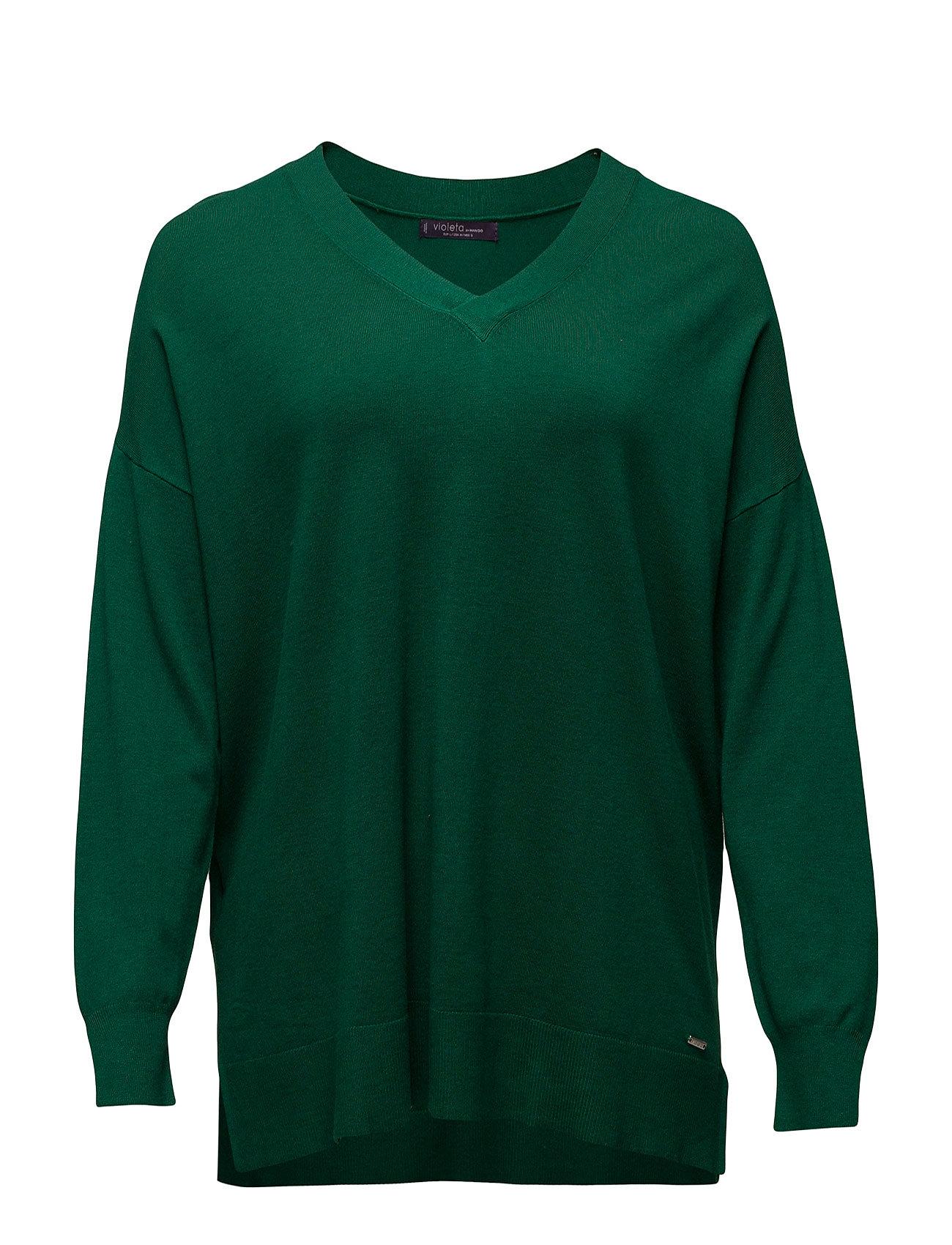 Side Slits Sweater Violeta by Mango Tröjor