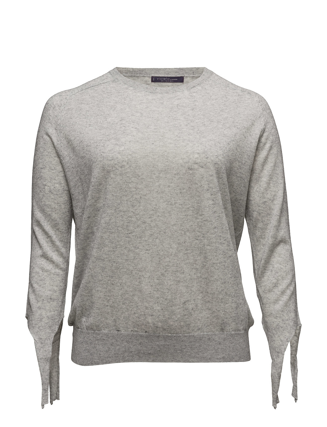 Bow Wool-Blend Sweater Violeta by Mango Tröjor