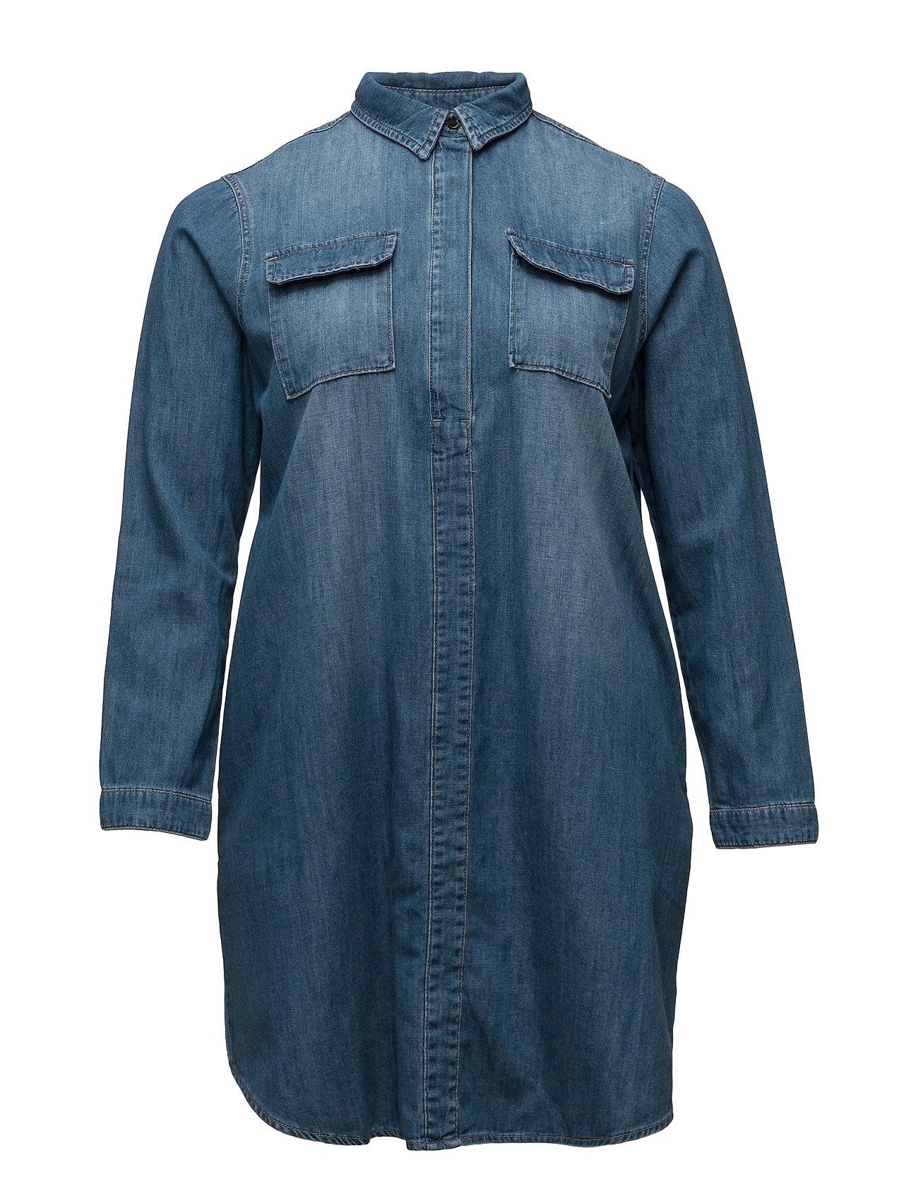 Pocket Denim Dress Violeta by Mango Korte kjoler til Damer i