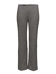Mini houndstooth trousers - MEDIUM GREY