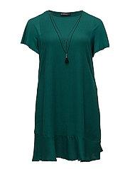 Detachable necklace dress - BRIGHT GREEN