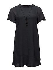 Detachable necklace dress - GREY