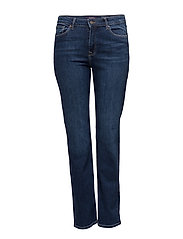 Slim-fit straight Theresa jeans - OPEN BLUE