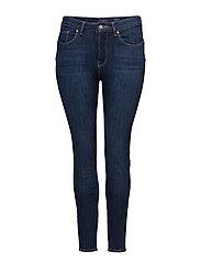 Bi-Stretch push-up jeans - OPEN BLUE