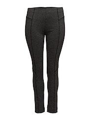 Decorative seam leggings - DARK GREY