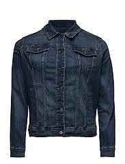 Dark wash denim jacket - OPEN BLUE