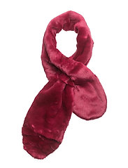Faux fur scarf - BRIGHT PINK