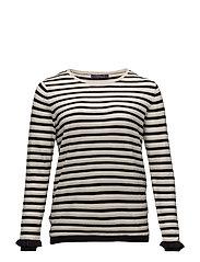 Violeta by Mango - Stripe Pattern Sweater