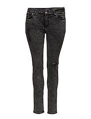 Super slim-fit Andrea jeans - OPEN GREY