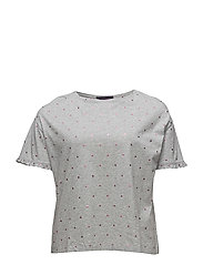 Violeta by Mango - Cotton Polka Dot T-Shirt
