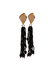 Violeta by Mango - Micro Beads Tassel Earrings
