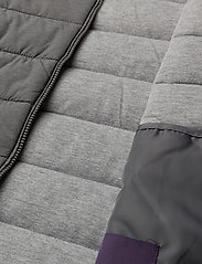 Quilted gilet - GREY