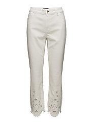 Slim crop Trocky jeans - WHITE