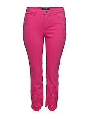 Slim crop Trocky jeans - BRIGHT PINK