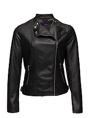 Violeta by Mango - Zipped Biker Jacket