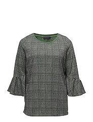Prince of Wales Blouse - GREY