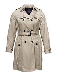 Violeta by Mango - Classic Cotton Trench Coat