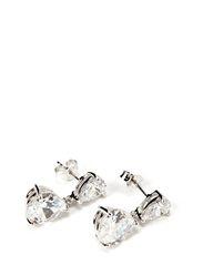 Earring in sterling silver - Silver