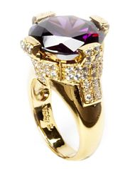 Ring in sterling silver - Gold